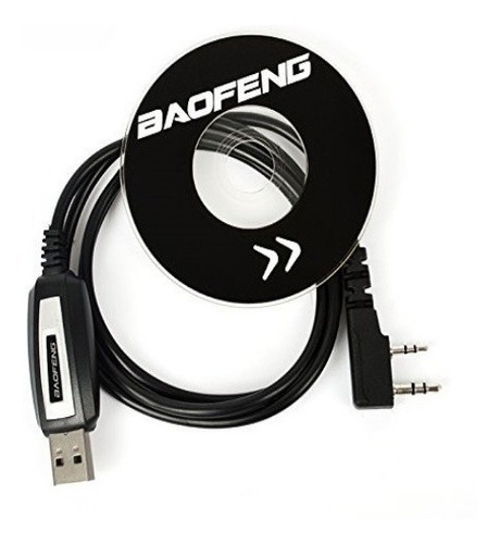 cabo usb programação radio uv82 uv5r baofeng + cd original