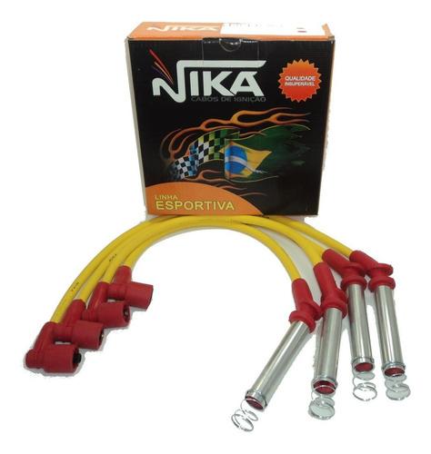 cabo vela silicone nika 10mm vectra 2.0 mpfi 1993 a 1995