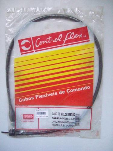 cabo velocimetro dt 180 n 1985/1987 control flex