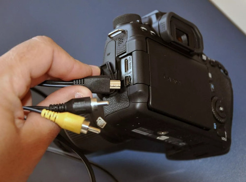 cabo video canon t5i, t4i, t3i t5 t6