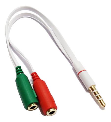 cabo y divisor p2 macho para 2 p2 femea dex fone de ouvido