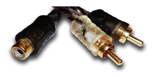 cabo y rca taramps 1 femea 2 macho 1f2m injetado blindado