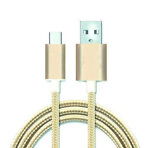 cabos carga micro usb v8 android reforçado nylon 30 unidade