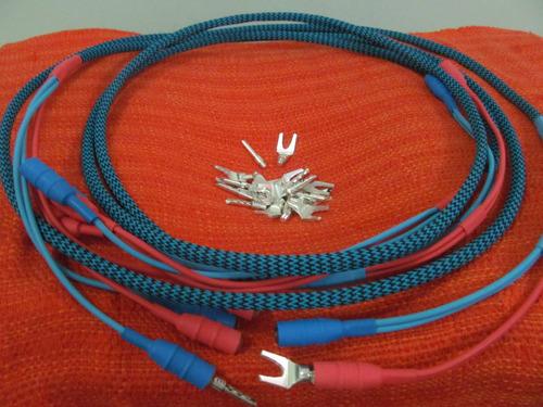 cabos de caixa asi liveline bicablado 2 metros novo hi end
