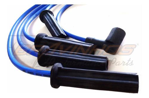 cabos de vela ignição esportivos silicone 8mm turbo gnv flex