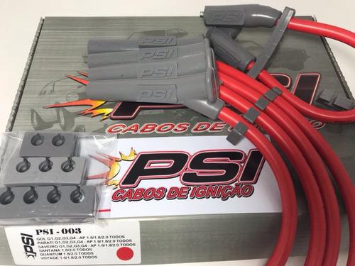 cabos de vela vermelho ford ka 1.0i 1.3i eudura i
