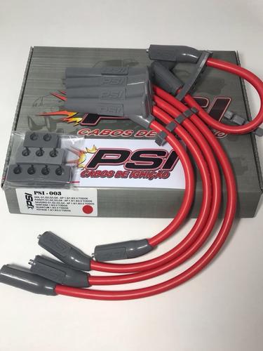cabos de vela vermelho ford ka 1.0i 1.3i eudura s