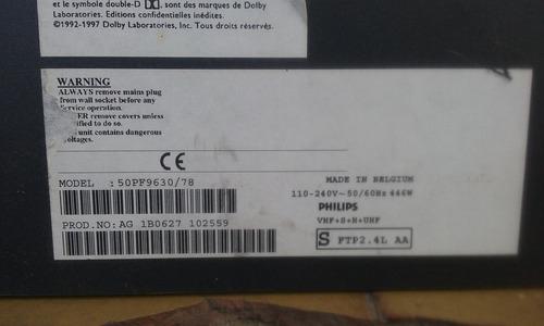 cabos e flats da philips 50pf9630/78