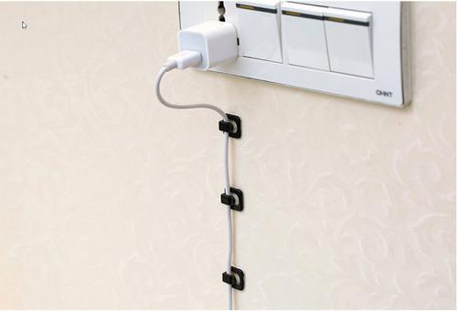 cabos fios organizador parede computador fixador parede