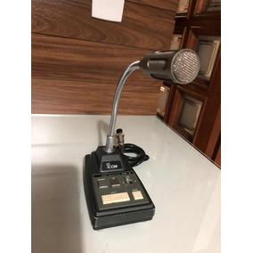 Microfone Icom Sm-8 (ñ Md 100 Sm 30 Mfj Yaesu Rádio)
