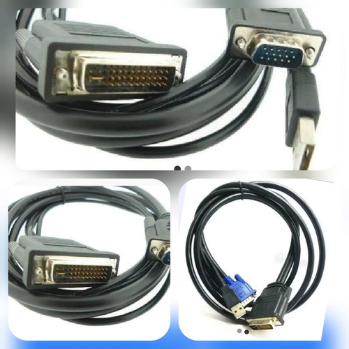 cabos projetores infocus conexo m1 dvi vga usb evc 1,80mts