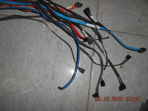 cabos sata lote c/15 variados (600)