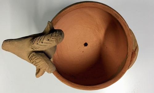 cabra de cerámica de terracota