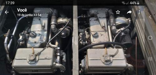 cabrasmar 26 bonito ,2 mercedes 4 cil diesel interculados