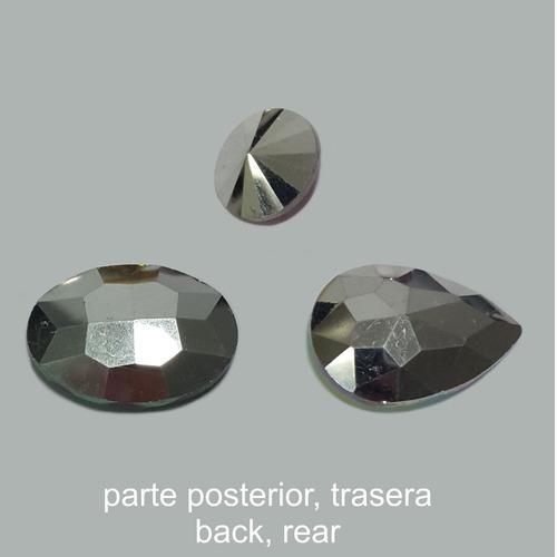 cabuchones de vidrio redondo 14mm soutache vendida por pieza