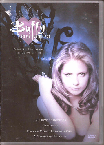caça vampiros dvd buffy: