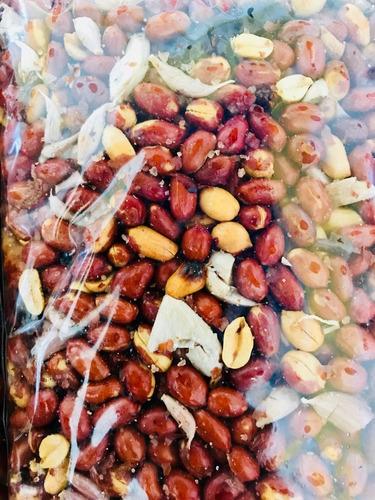 cacahuates con chile de arbol y ajo 1kg
