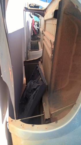 caçamba carroceria gm s10 2010 cabine dupla original