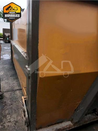 caçamba estacionária p17 - unidade externa