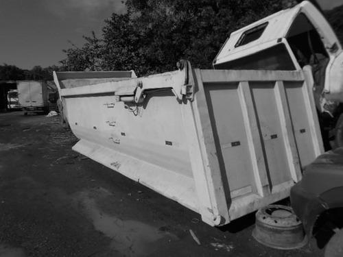 caçamba rosseti-meia cana 16 metros ano 2011-semi-nova