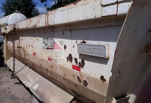 caçamba rossetti - ano 2008 - 14 metros, completa p/ traçado