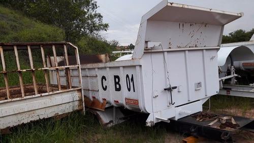 caçambas basculante rossetti ano 2012 caçambas 10 metros