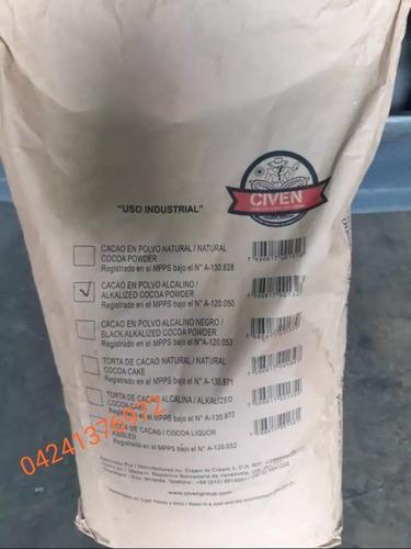 cacao en polvo 100% alcalino marca civen