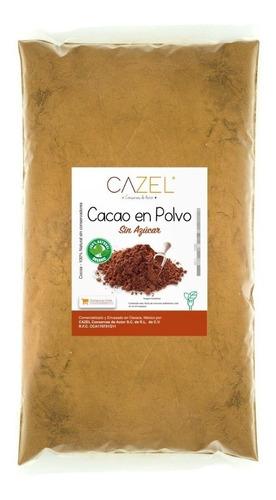 cacao en polvo 3 kg sin azúcar oaxaca