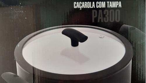 caçarola indução hercules rev cerâmico 24 cm pa300-c24pr