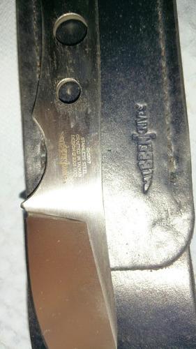 caceria cuchillo  bill hibben acero inoxidable