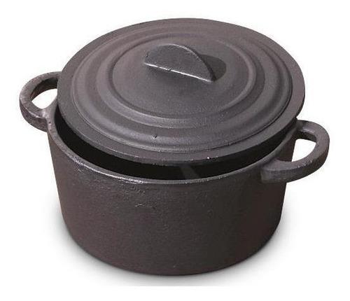 cacerola de hierro fundicion olla de hierro nro 5 con tapa