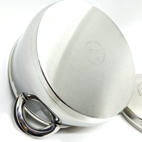 cacerola gamuza master ware de acero triple fondo n°24