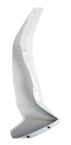 cacha lateral derecha blanca yamaha crypton 110 + calco
