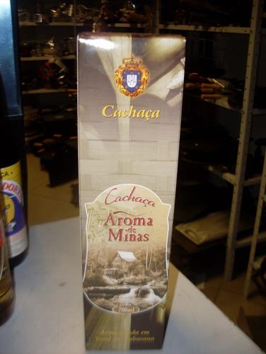 cachaça aroma de minas 700ml