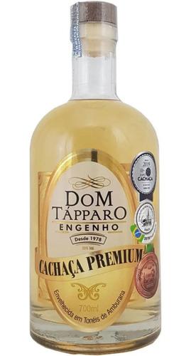cachaça premium amburana dom tápparo 38% 700 ml