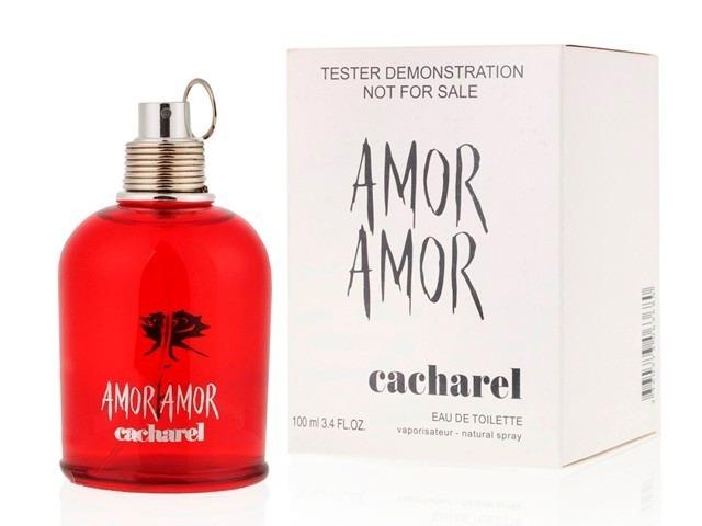 5641fb10b Cacharel Amor Amor Feminino 100ml Tester Original Promoção - R  163 ...
