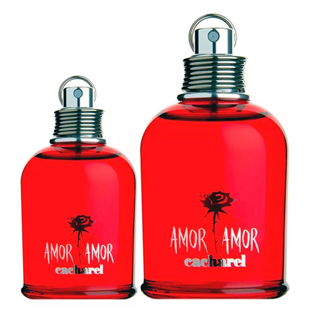 e8e3a1b02 cacharel amor amor xmas kit - perfume 100ml + perfume 30ml. Carregando zoom.