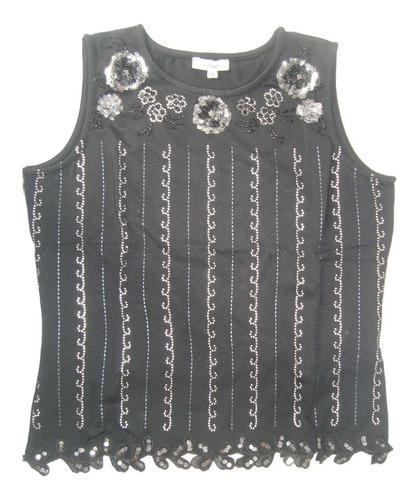 cacharel blusa bordada strass-paillettes envio gratis cuotas