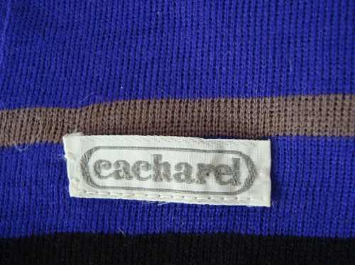 cacharel bufanda 100% lana italiana violeta e.gratis+cuotas