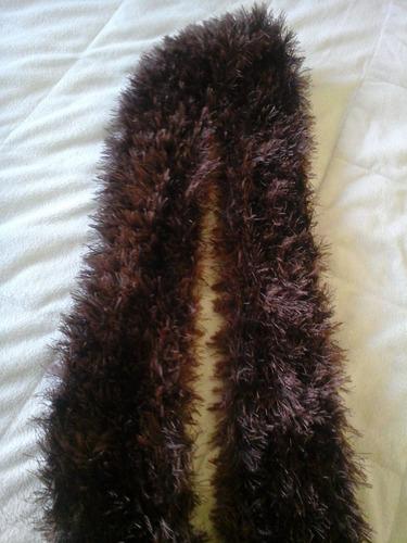 cachecóis em tricô - fashion (feito a mão)