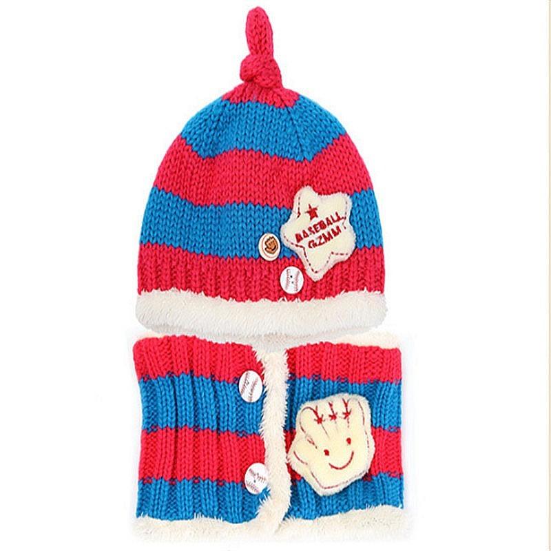 cachecol com toucas chapéu inverno lã infantil para criança. Carregando  zoom. 3bce1151ff9