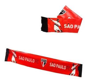 129321d00ba973 Cachecol De Time São Paulo Fc Torcida 10 Unidades