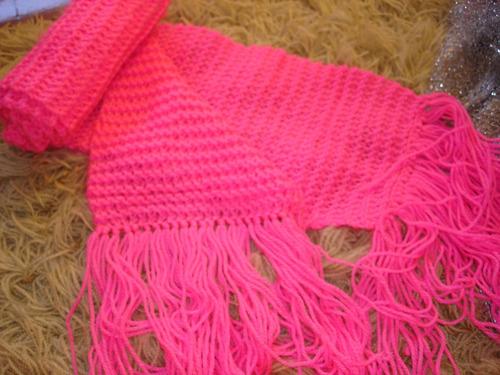 cachecol em lã