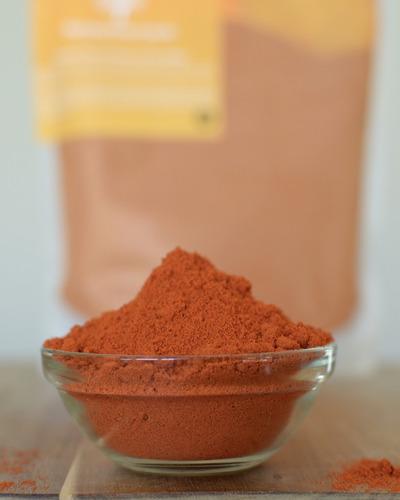 cachemira de chile rojo en polvo 100% natural, sólo por bany