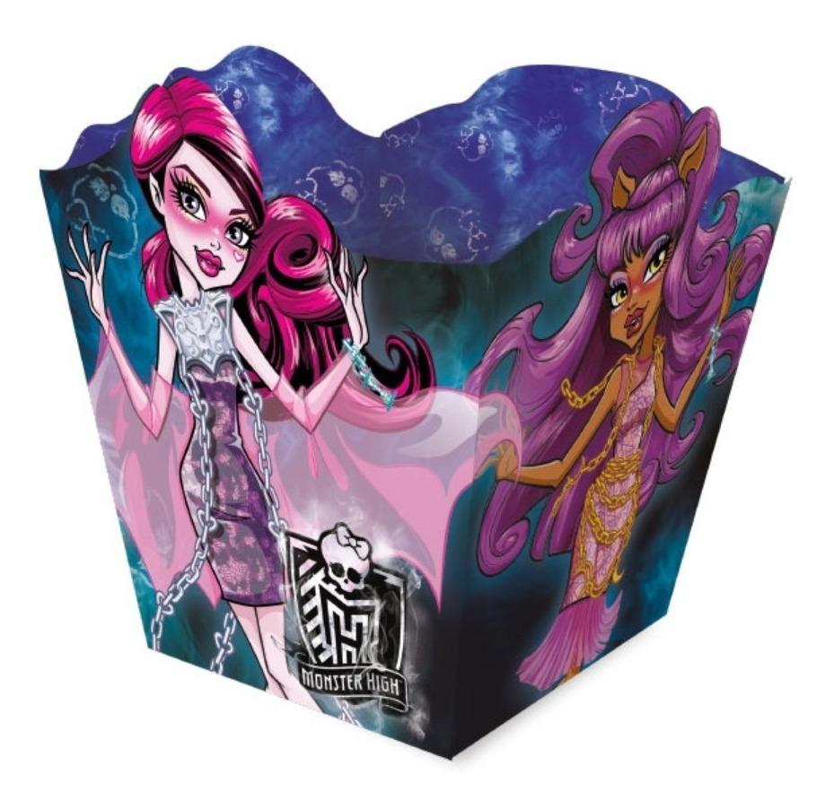 Cachepot Centro De Mesa Monster High C/16 Unid. - Decoração - R$ 39,90 em  Mercado Livre
