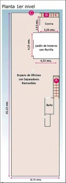 cachi al 200 y av. almafuerte 8,66 x 37 total 430 m2 lote propio sin exp