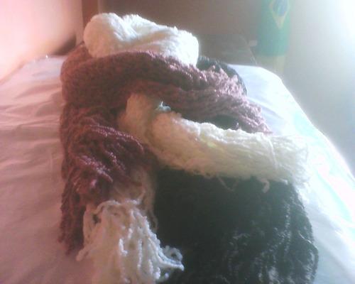 cachicois 2014 tear em cordão e lã.