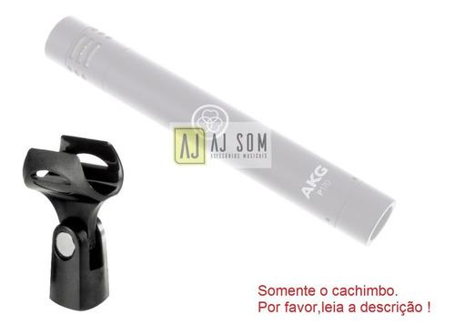 cachimbo,presilha 5/8  ø21 mm p/fixação microfone finos