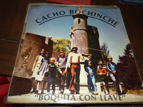 cacho bochinche. disco vinilo boquita con llave orfeo 1980