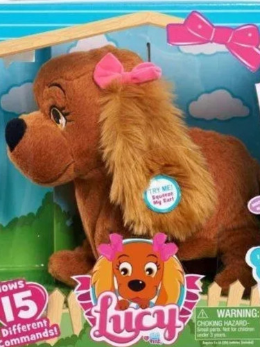 cachorrinha lucy original multikids portu br469 na caixa toy